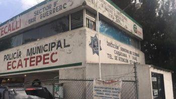 Roban 24 armas de módulo de la policía en Ecatepec