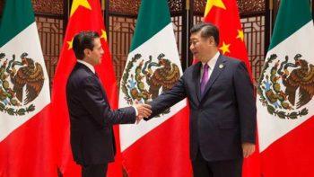 Peña Nieto se reúne con presidente de China