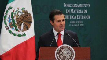 EU, Colombia y España expresan su solidaridad a Peña Nieto