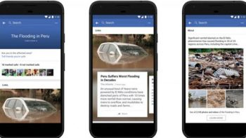 Facebook presenta nuevo centro de respuesta a crisis