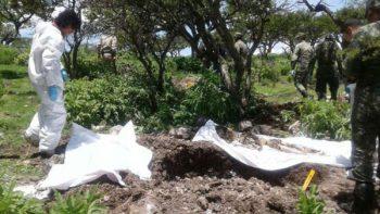 Hallan cuatro fosas clandestinas en Zacatecas