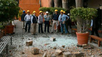 Patrimonio de Morelos registra daños por el sismo