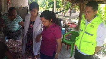 Vigila higiene de albergues en Chiapas y Oaxaca