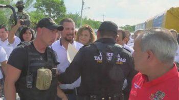 Guajardo Anzaldúa denuncia que el gobernador le prohibió la entrada a un evento en su municipio (VIDEO)
