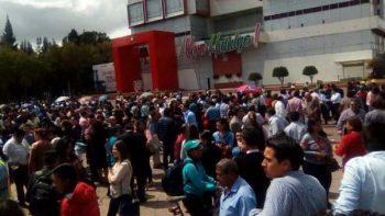 Desalojan edificios por sismo de 4.2 grados en Hidalgo