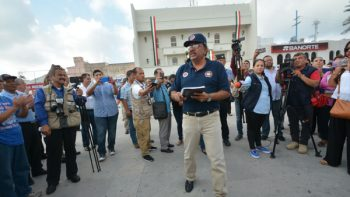Realiza PCyB simulacro de emergencia en la Presidencia Municipal
