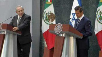 Firman México e Israel acuerdos para impulsar cooperación