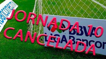 Jornada 10 de Liga MX se suspende; la 11 podría cancelarse también
