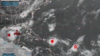 Se forma 'José'; sigue la estela del huracán 'Irma' de categoría 5