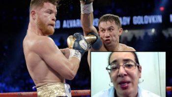 """Suspenden a jueza de pelea """"Canelo"""" vs. Golovkin"""