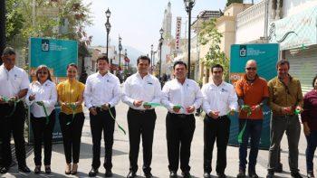 "Inaugura Paco Cienfuegos paseo peatonal turístico ""Barbadillo"""