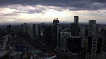 Reportan lluvia en norte y sur de la Ciudad de México