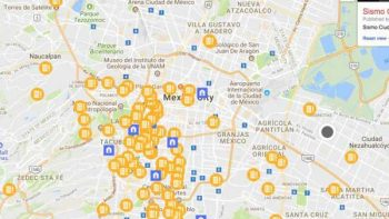 Lanzan mapa colaborativo para continuar con la ayuda a México