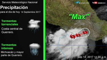 Recomendaciones ante efectos del huracán 'Max'