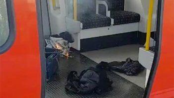 Decenas de heridos en ataque terrorista en metro de Londres (VIDEO)