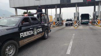 Responden policías de NL ante emergencia en Morelos