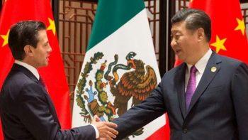 Peña Nieto se reúne con el director de banco chino