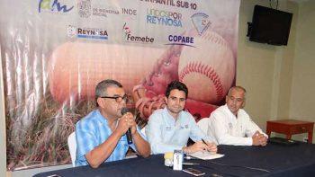 Traen a Reynosa Panamericano de besibol infantil