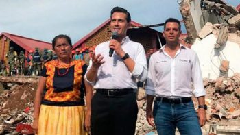 Declara Peña Nieto luto nacional tras sismo