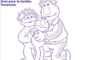 Elmo y sus amigos en guía para tranquilizar a niños tras sismo