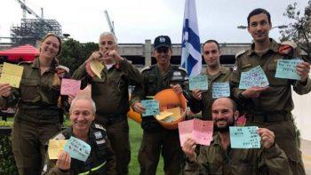 Agradecen niños mexicanos a rescatistas de Israel