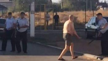 Hombre con esquizofrenia sale a las calles con la cabeza decapitada una bebé (VIDEO)