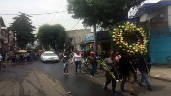 Despiden a víctimas mortales en Xochimilco tras sismo