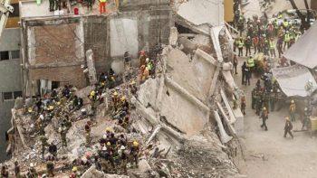 Censo sobre estructuras dañadas en CDMX, al 95 por ciento