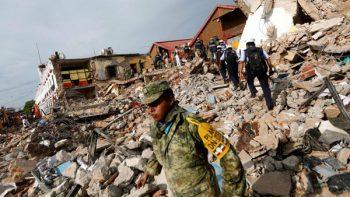 Alistan reconstrucción en Oaxaca y Chiapas