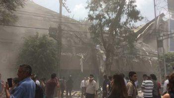 Dos sismos simultáneos sacuden a la CDMX