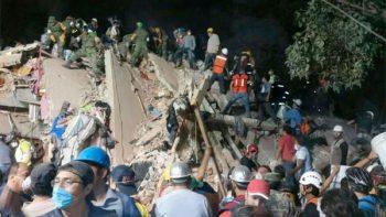 Aumenta a 225 el número de personas fallecidas por sismo