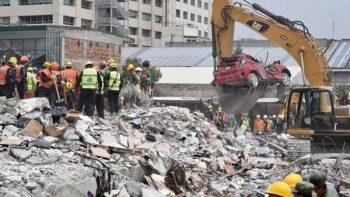 Reitera Protección Civil que labores de rescate por sismo continúan