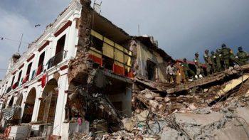Comerciantes de Hidalgo envían 7 toneladas de ayuda a Juchitán