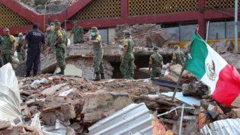Con apoyo alimentario, censo y reconstrucción atienden a damnificados por sismo
