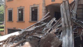 Tras sismo se vive hermetismo en el Tecnológico de Monterrey