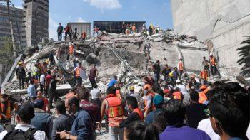 Refuerzan vigilancia epidemiológica tras sismo de 7.1 grados