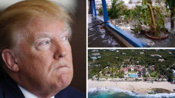 'Irma' pasa por encima de lujosa mansión de Trump, valuada en 28 mdd