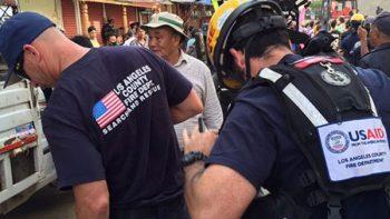 Estados Unidos despliega unidad para apoyar en rescates por terremoto
