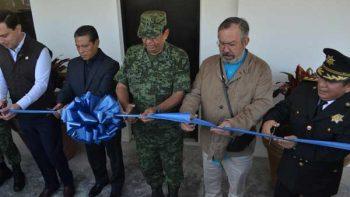 Inauguran base de operación interinstitucional en San Pedro