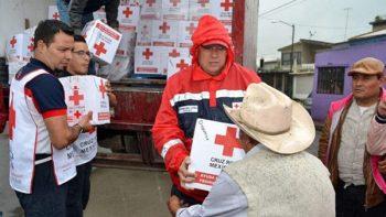 Cruz Roja ha enviado 3 mil toneladas de ayuda