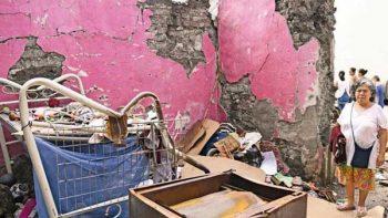 Detecta Segob 15 mil casas dañadas en Morelos