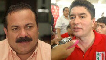 Enfrentan a golpes ex gobernador y secretario de Q. Roo