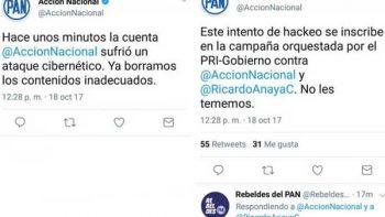 Acción Nacional acusa al PRI de hackeo en Twitter