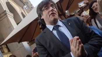 Alemania ordena libertad bajo fianza a Puigdemont