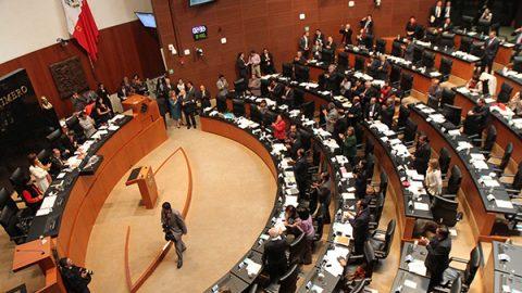 Senado pide al INE dar marcha atrás a prohibición de debates