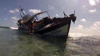 Abren procedimiento contra embarcación que dañó arrecife en Yucatán