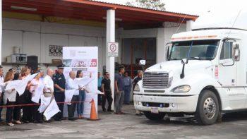 Matamoros envía 56 toneladas de apoyo a damnificados de sismos