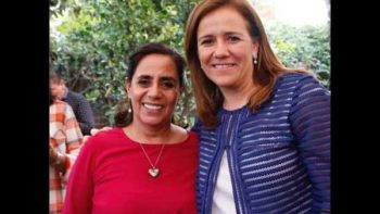 Acompaña 'Cocoa' a Margarita en suma de firmas en Morelia