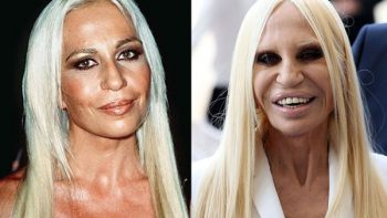 Así se ve Donatella Versace después de varias cirugías