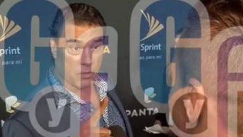 Eduardo Yáñez pide disculpas por agresión a reportero